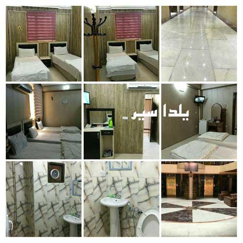 هتل قصر السور نجف- تور هوایی کربلا