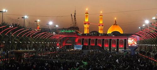 تور هوایی کربلا از تهران